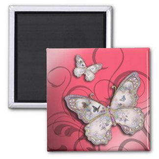 """Mariposas del brillo"" (rosa) por Cheryl Daniels Iman"