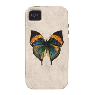 Mariposas del ejemplo 1800's de la mariposa del iPhone 4 fundas