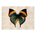Mariposas del ejemplo 1800's de la mariposa del plantillas de tarjeta de negocio