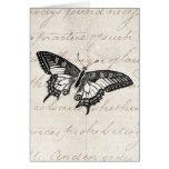 Mariposas del ejemplo 1800's de la mariposa del vi tarjetas