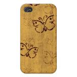 Mariposas del Grunge iPhone 4/4S Funda