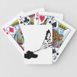 Mariposas del tanque cartas de juego