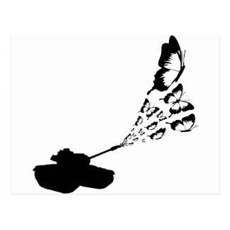 Mariposas del tanque tarjetas postales