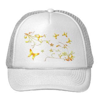 Mariposas del verano gorras de camionero