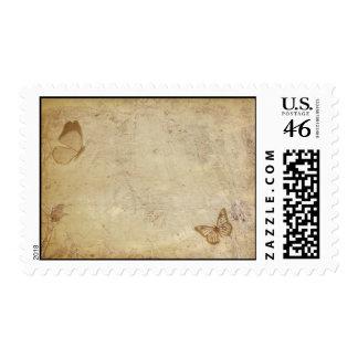 Mariposas del vintage sellos