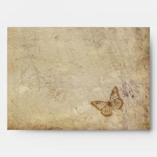 Mariposas del vintage sobres