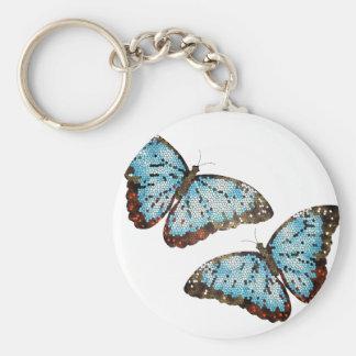 Mariposas del vuelo llavero