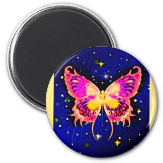 Mariposas eléctricas imán redondo 5 cm