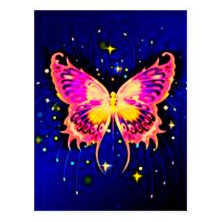 Mariposas eléctricas postales