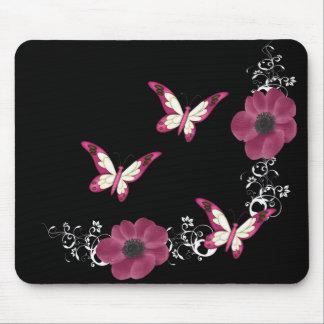 mariposas elegantes tapete de ratones