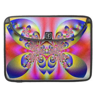 """Mariposas en mi rosa Macbook favorable 15"""" de la m Funda Para Macbooks"""