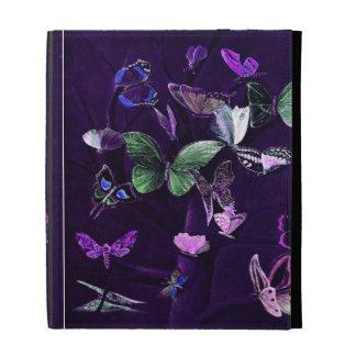 Mariposas en púrpura
