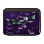 Mariposas en púrpura fundas para macbook air
