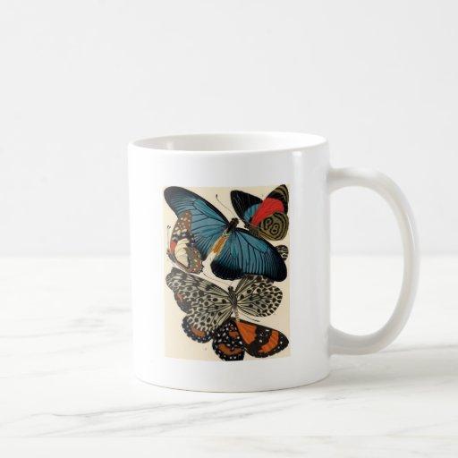 Mariposas entre nosotros tazas de café