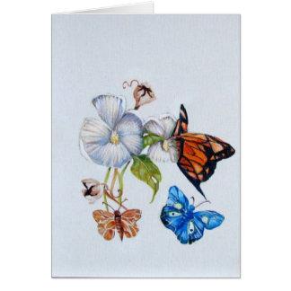 mariposas felicitacion