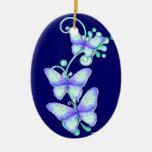 Mariposas florecientes 8 ornamento para reyes magos