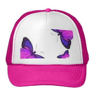 mariposas gorras