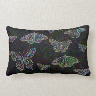 Mariposas grabadas al agua fuerte almohadas