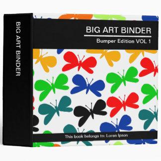 Mariposas grandes de la carpeta 040 del arte (los