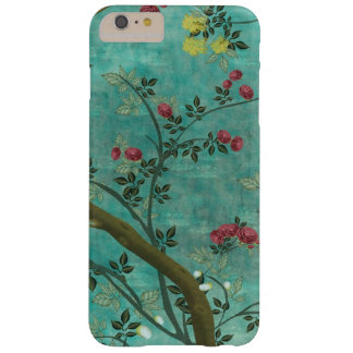 Mariposas hermosas del árbol del flor de la funda para iPhone 6 plus barely there