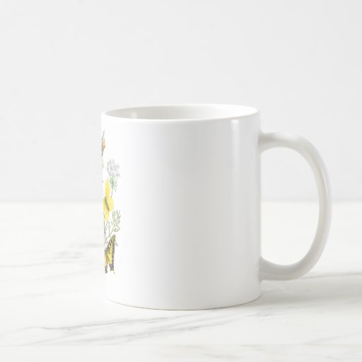 Mariposas hermosas taza