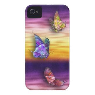 Mariposas iPhone4/4S de la fantasía iPhone 4 Fundas