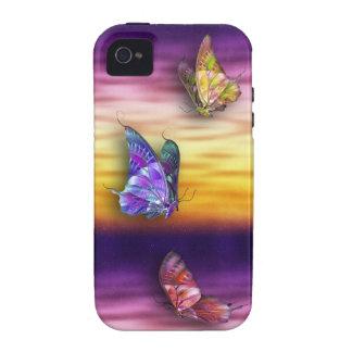 Mariposas iPhone4/4S de la fantasía iPhone 4/4S Carcasa