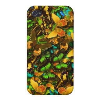 Mariposas iPhone 4/4S Fundas