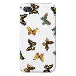Mariposas iPhone 4 Carcasa
