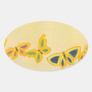 Mariposas japonesas - pegatina