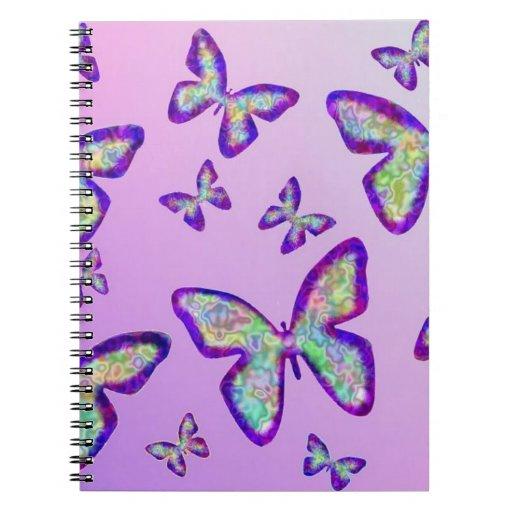 Mariposas Libretas Espirales