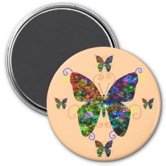 Mariposas lindas de Lil Imán De Frigorífico