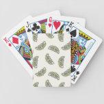 Mariposas mágicas en beige baraja de cartas