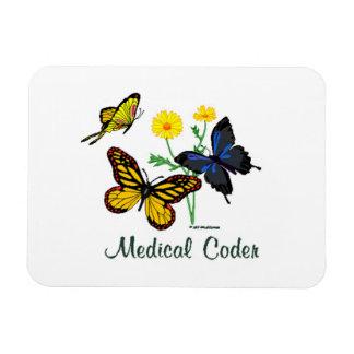 Mariposas médicas del codificador imán