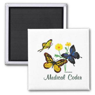Mariposas médicas del codificador imán cuadrado