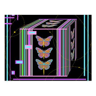 Mariposas Morphing diseño de la caja por Sharles Postal