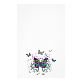 Mariposas multicoloras personalized stationery