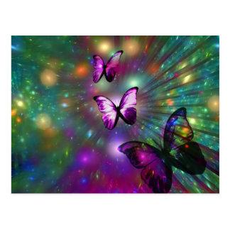 Mariposas para siempre postales