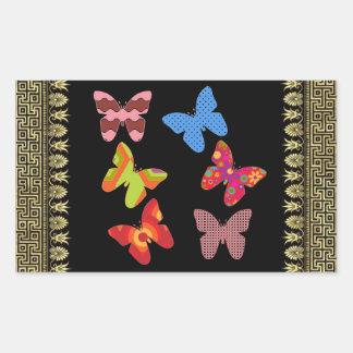 Mariposas Rectangular Altavoz
