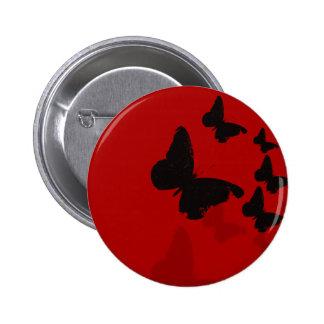 Mariposas Pin Redondo De 2 Pulgadas