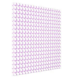 Mariposas púrpuras bonitas de la conciencia del impresión en tela