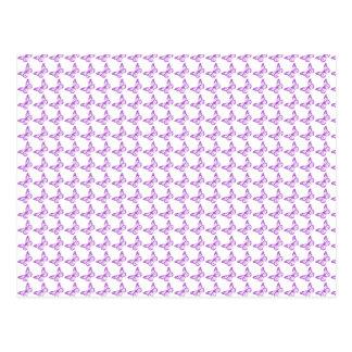 Mariposas púrpuras bonitas de la conciencia del postales