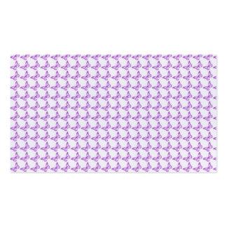 Mariposas púrpuras bonitas de la conciencia del tarjetas de visita