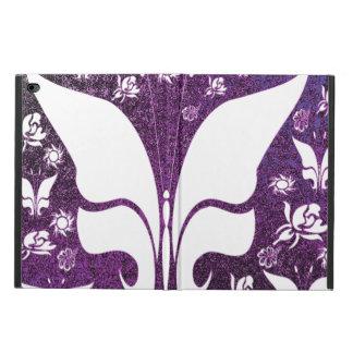 Mariposas púrpuras florales