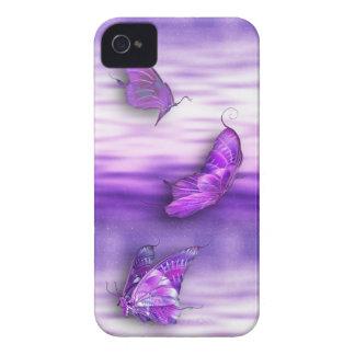 Mariposas púrpuras iPhone4/4S iPhone 4 Coberturas