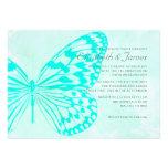Mariposas que casan invitaciones comunicados