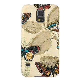 Mariposas que se deslizan sobre las hojas carcasa para galaxy s5