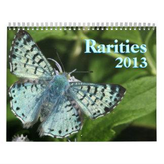Mariposas raras 2013 calendario