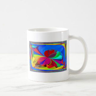 Mariposas reconstruidas taza de café