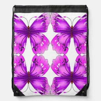 Mariposas reflejadas de la conciencia mochilas